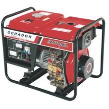 Gerador à Diesel 5.0 Kva MDGT5000ClE Bivolt Motomil