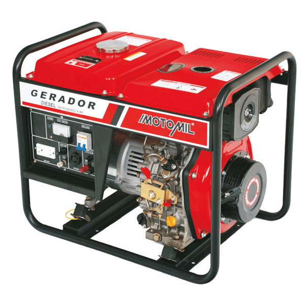 21ac4f0c5ae Gerador à Diesel 5.0 Kva Bivolt MDG5000CL Motomil