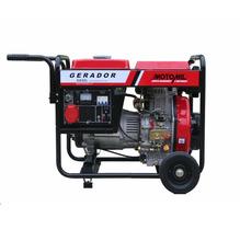 Gerador a Diesel 6,5Kva 110/220 MDG6500CLE Motomil