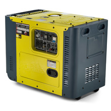 Gerador a Diesel TDG8000SLE 6.5 KVA Silent Monofásico Toyama