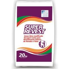 Gesso em Pó Super Revest  20kg Super Gesso
