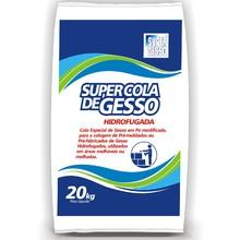 Gesso em Pó SuperCola Hidrófugada 20kg Super Gesso