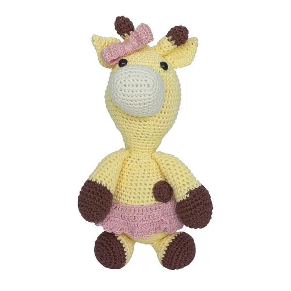 Girafa Bichinho Amigurumi Croche 100% Algodão, Bebe - R$ 80,00 em ...   600x600