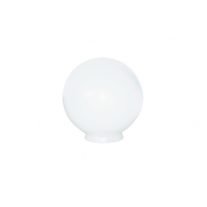 globo para poste de jardim 10cm blumenau ilumina o leroy merlin. Black Bedroom Furniture Sets. Home Design Ideas