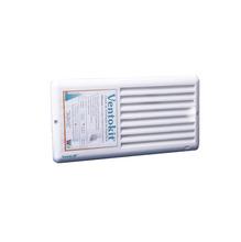 Grade de Ventilação Retangular Branca Wrstaflex