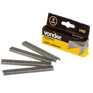 Grampo 6mm Vr-6 Cx com 1000 und Vonder