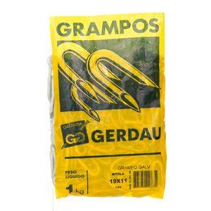 Grampo Aço Galvanizado 19x11 - 1x9 Gerdau