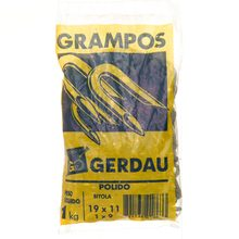 Grampo Aço Polido 19x11 - 1x9 Gerdau