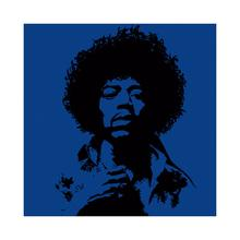 Gravura Dark Blue Hendrix 30x30cm