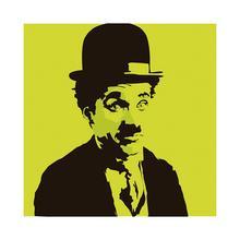 Gravura Yellow Chaplin 30x30cm