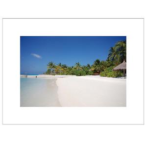 Gravura Praia Branca 30x40cm