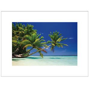 Gravura Praia Cristalina 30x40cm