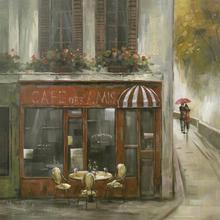 Gravura Café Elyseé 38x38cm