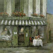Gravura Café Paris 38x38cm