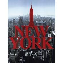 Gravura NY Vermelha 40x30cm