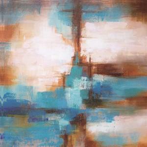 Gravura Abstrato Encontro 47x47cm