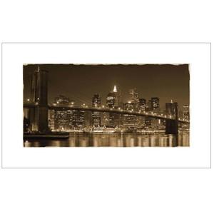 Gravura Brooklyn Sépia 30x50cm