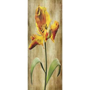 Gravura Orquídea Amarela 65x25cm