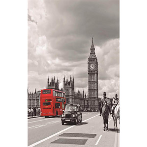 Gravura Londres PB 80x50cm