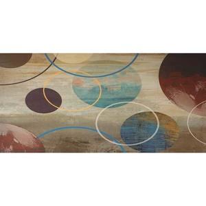 Gravura Abstrato Círculos 47x97cm