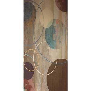 Gravura Abstrato Círculos 97x47cm