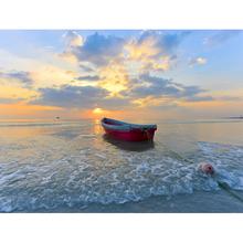 Gravura Alone In The Sea 30x40cm
