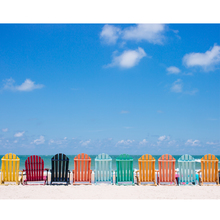 Gravura Beach Chairs 40x50cm
