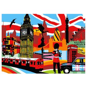 Gravura Brito Londres 50x70cm