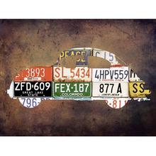 Gravura Car Plate 30x40cm