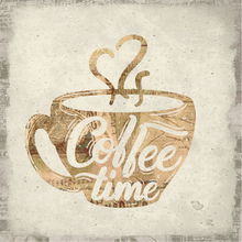 Gravura Coffee Time 20x20cm