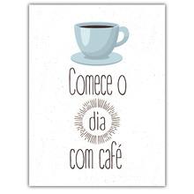 Gravura Dia de Café 40x30cm