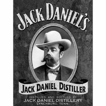 Gravura Jack Daniels 40x30cm