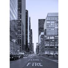 Gravura Nova York Preto e Branco 70x50cm