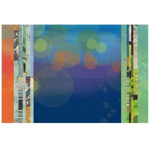 Gravura Paisagem Abstrata 47x57cm