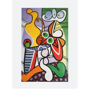 Gravura Picasso Abstrato 40x30cm