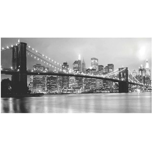 Gravura Ponte do Brooklyn 30x50cm