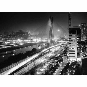 Gravura Ponte Estaiada 70x97cm