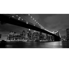 Gravura Ponte Preto e Branco 10x50cm