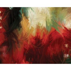 Gravura Red Abstract 40x50cm