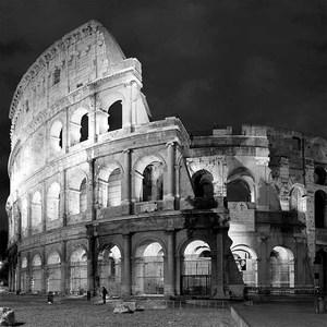 Gravura Roma Coliseu 50x50cm