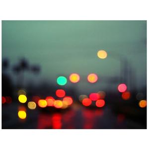 Gravura Traffic Lights 30x40cm