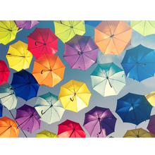 Gravura Umbrellas In The Sky 30x40cm