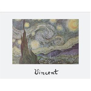 Gravura Van Gogh Noite Estrelada 30x40cm