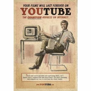 Gravura Youtube 30x21cm