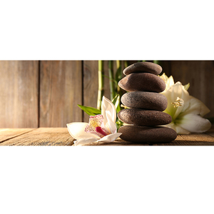 Gravura Zen Pedras 50x20cm