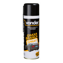 Graxa Spray Branca Base Lítio 200G