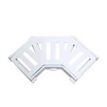 Grelha em Alumínio com Caixilho Curvo 8cm Branco GDA