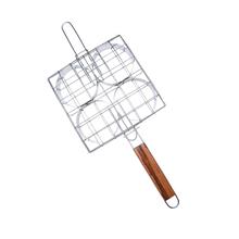 Grelha para Hambúrguer Gourmet Aço Inox 61x19cm Artmill