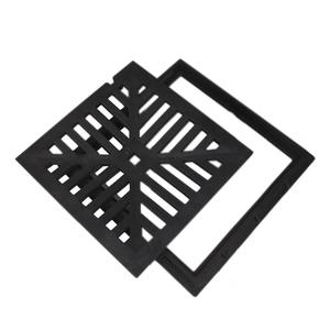 Grelha PP 30x30cm PVC Preto Odem
