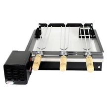 Grill ArtGrill Platinum Baixo com 3 Espetos Bivolt 65x12x22cm Artmill